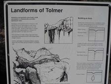 Tolmer Falls Info Plaque
