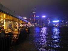 Hong Kong Waterfront - Night View