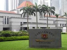 Name Plaque & Parliament Backdrop