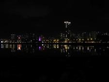 Night Lights Around Powai Lake