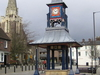 The Clock Tower And Market Cross