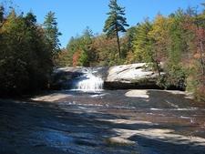 Dupont State Forest NC Upper Bridal Veil Falls
