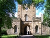 Durham Castle Eingang