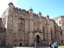 Durham Castle Innenhof