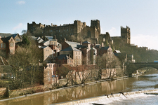 Durham Castle River View