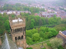 Durham Cathedral View From Tower