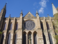 Durhan Cathedral's Rose Window