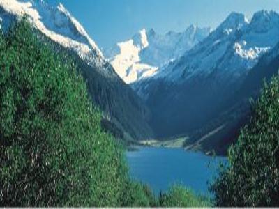 Durlaßboden Stausee  Tyrol Austria
