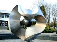 Fuente escultura dinámica