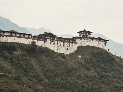 Dzong At Wangdue Phodrang, Bhutan
