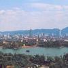 Daming Lake And Jinan Skyline