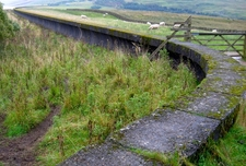 Extended Parapet Of Grimwith Dam