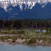 De Selt Range And Athabasca River