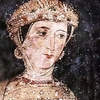 A Fresco Depicting Desislava, A Church Patron Desislava