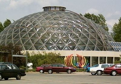 Exterior Of Des Moines Botanical Center