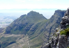Devil's Peak As Viewed From The Summit Of Table Mountain