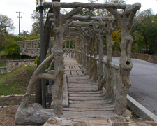 Dionicio Rodriguez Bridge In Brackenridge Park