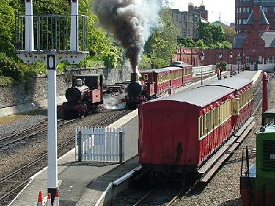 Douglas  Railway  Station  Isle Of  Man