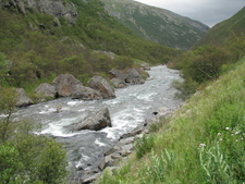 Drivdalen With River Driva