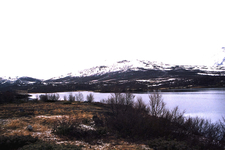 Dovrefjell Lake In The Late Fall