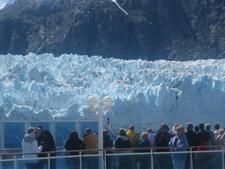 Dramtic View Of Marjerie Glacier