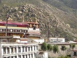 O mosteiro Drepung