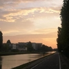 Sunset Along The Canal At Bondy