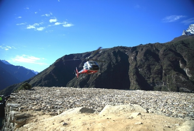 Everest Base Camp Helicopter Tour Photos
