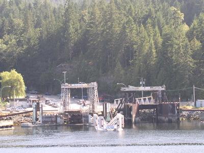 The BC Ferries Docks