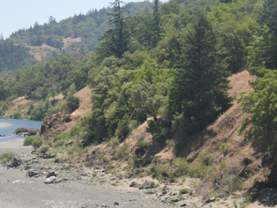 East Branch South Fork Eel River  California