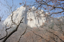 East Face Of Seoninbong Peak