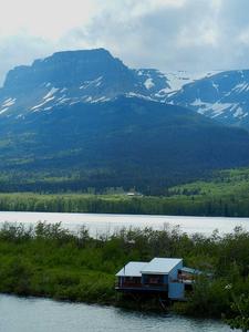 East Flattop Mountain - Glacier - USA