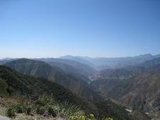 East Fork San Gabriel River Canyon