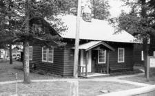 East Glacier Ranger Station Historic District - Glacier - USA