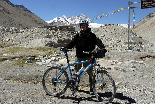 Tibet Cycling Tour Packages Photos