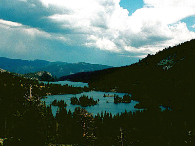 Upper And Lower Echo Lake