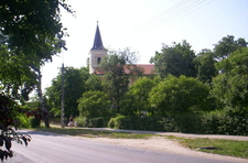 Ecseri Park With Church