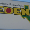 Eden Texas Welcome Sign