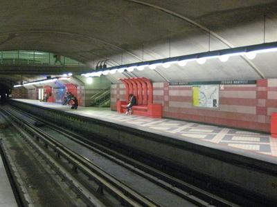Edouard Montpetit Metro Station