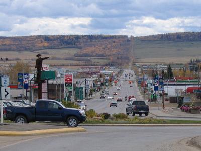 Eight Street Dawson Creek