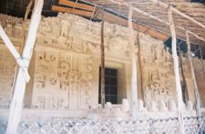 Ek' Balam Altar - Yucatán - Mexico
