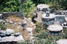 Ek' Balam Pillars - Yucatán - Mexico