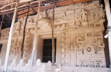 Ek' Balam Stucco Facade- Yucatán - Mexico