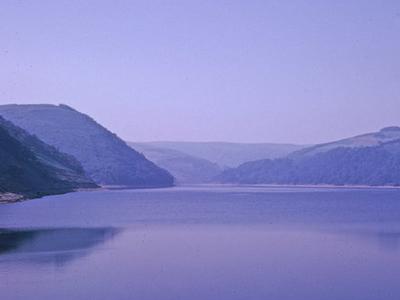 Elan Valley In Powys, Wales