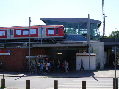 Elbgaustrasse Railway Station