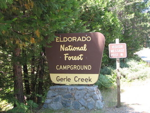 Eldorado Gerle Creek Campground