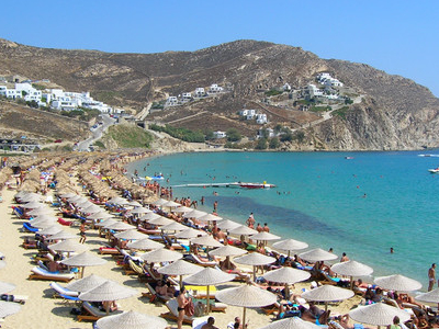 Elias  Beach On  Mykonos