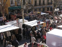 El Rastro Market Street