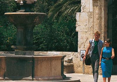 El Real Gardens. Valencia