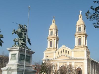 Cathedral At Plaza De Los Heroes